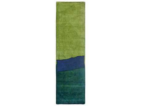 Trans Ocean Piazza Modern Hand Made Wool Abstract Area Rug - 7280-03-RUN
