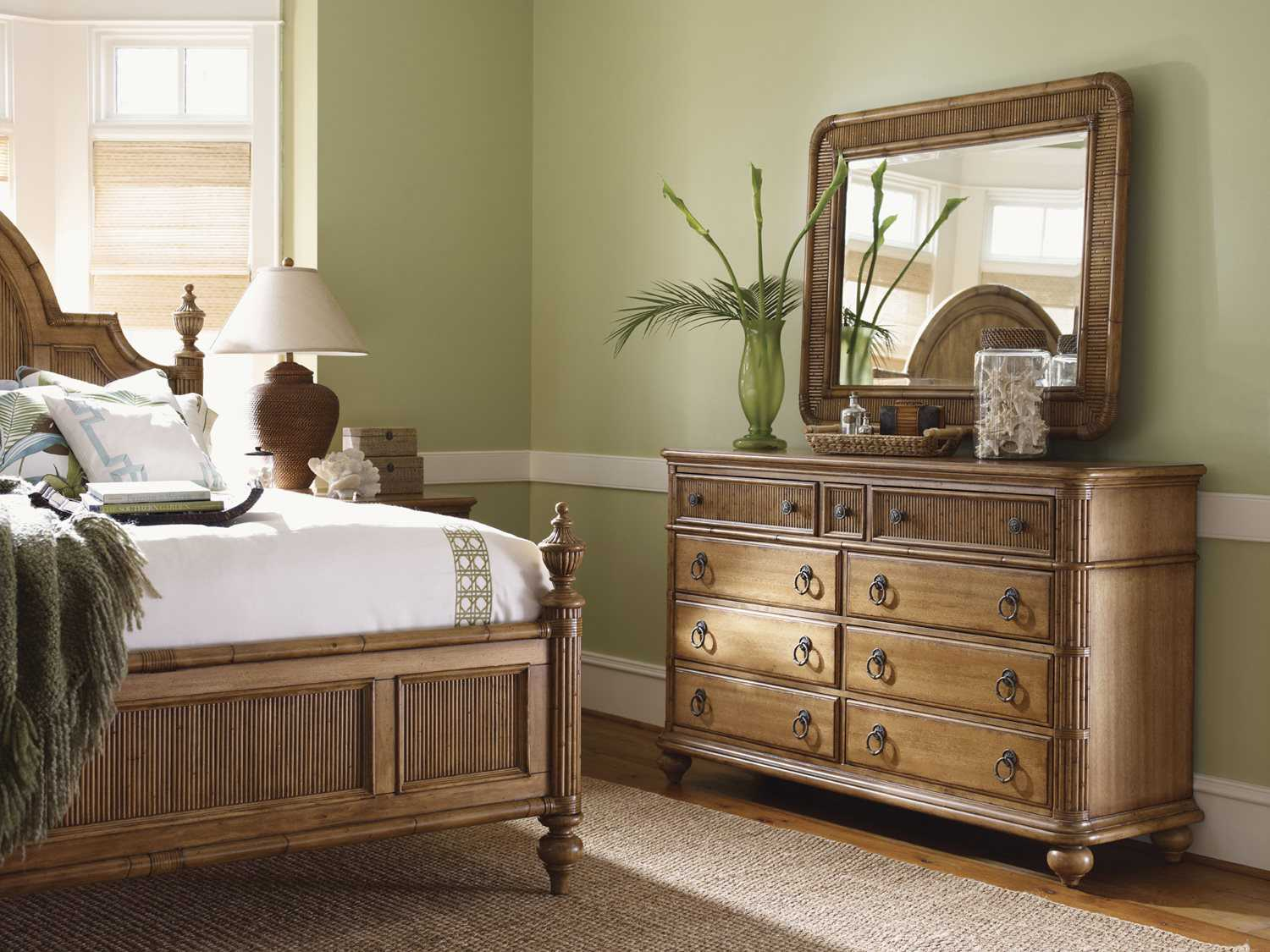 astounding tommy bahama bedroom furniture white | Tommy Bahama Beach House Belle Isle Bedroom Set | 01-0540 ...