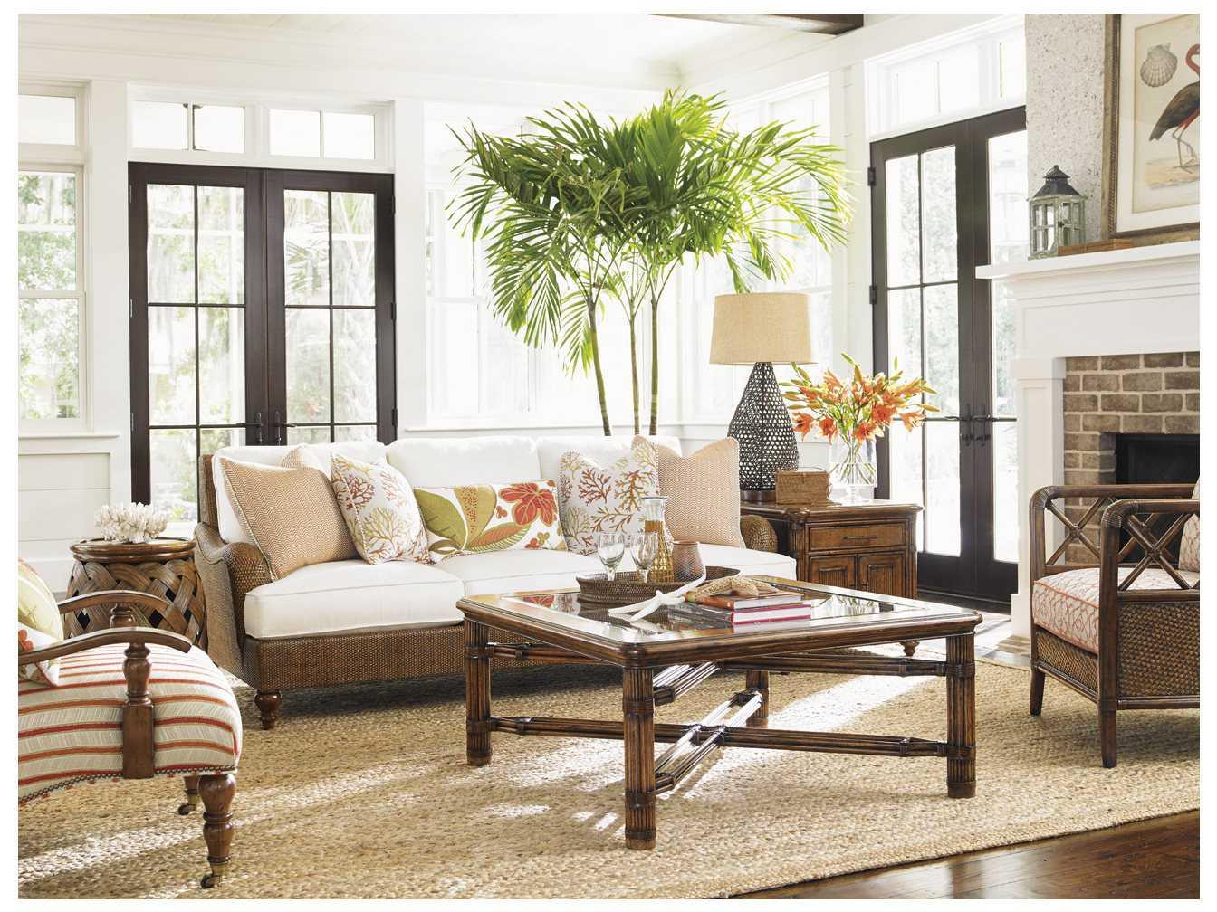 Tommy Bahama Bali Hai Living Room Set 177433 947set