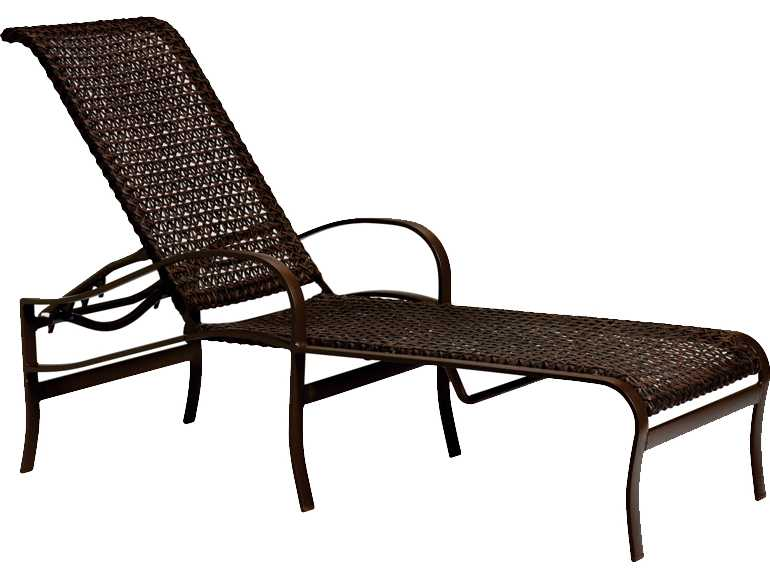Tropitone palladian lattice cast aluminum chaise 109932ls for Cast aluminum chaise