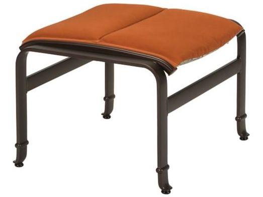 torino padded sling aluminum ottoman tp150317ps torino padded sling