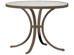 Tropitone Cast Aluminum 36 Round Dining Table with Umbrella Hole