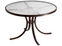 Tropitone Cast Aluminum 42 Round Dining Table