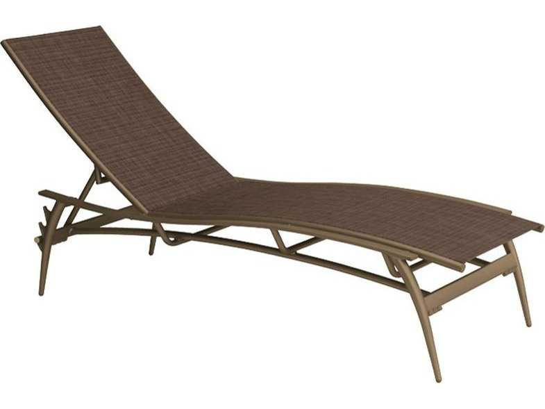 Tropitone echo sling aluminum chaise lounge 189932 for Aluminum sling chaise lounge