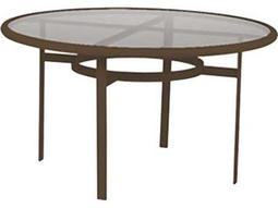 Tropitone Aluminum 48 Round Dining Table with Umbrella Hole