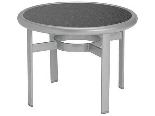 Tropitone Hpl Raduno Aluminum 24 Round Tea Table 190383h