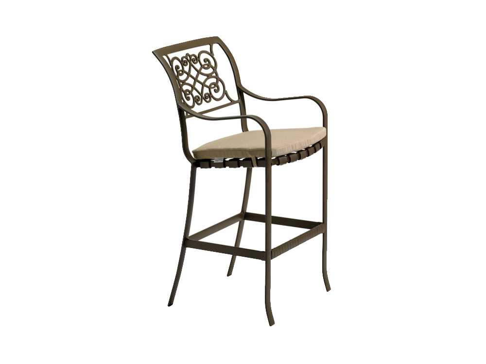 Tropitone Palladian X Back Bar Stool Replacement Cushions  : TP22082605zm from www.patioliving.com size 1000 x 750 jpeg 21kB