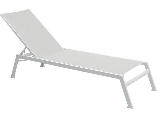 Tropitone valora aluminum sono armless chaise lounge 2a1333 for Armless chaise slipcover