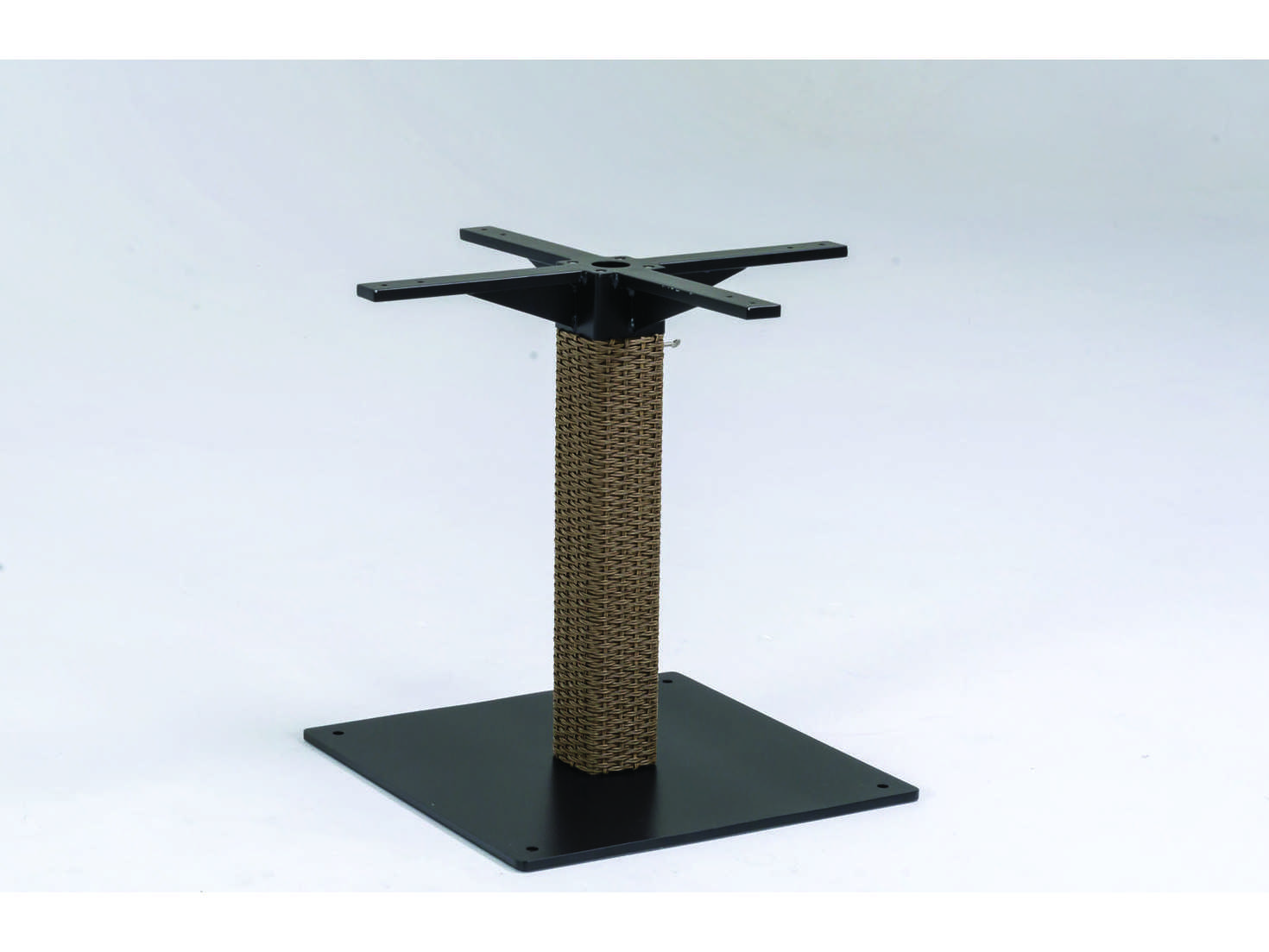 Tropitone evo woven dining table base only 360936b for Dining table base