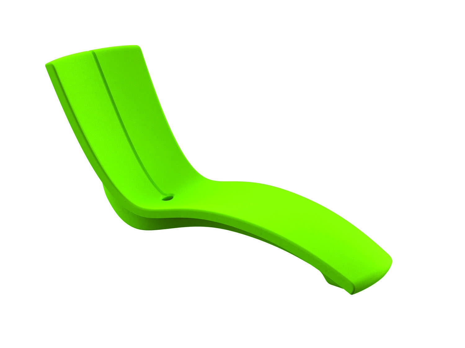 Tropitone curve recycled plastic rotoform3 chaise lounge for Chaise longue plastique