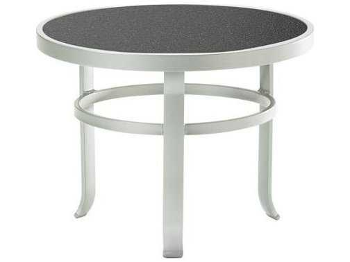 Tropitone Hpl Raduno Aluminum 24 Round Tea Table 4283h