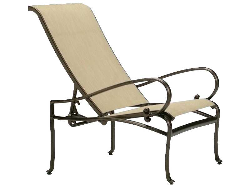 Tropitone Radiance Sling Cast Aluminum Lounge Chair