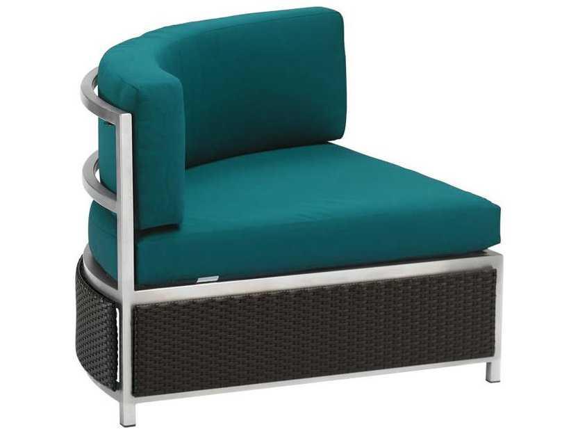 Tropitone Cabana Club Aluminum Curved Corner Lounge Chair