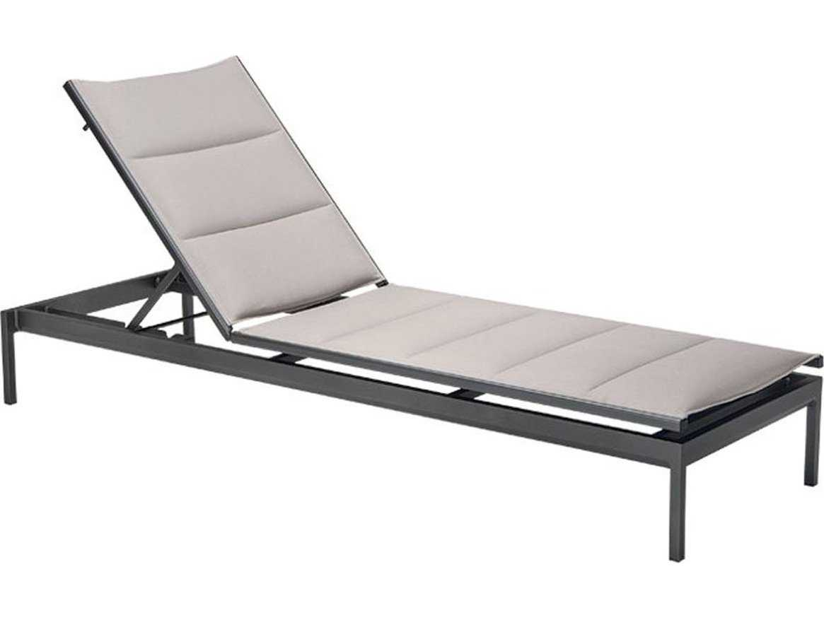 Tropitone cabana club aluminum sling side chaise lounge for Aluminum sling chaise lounge
