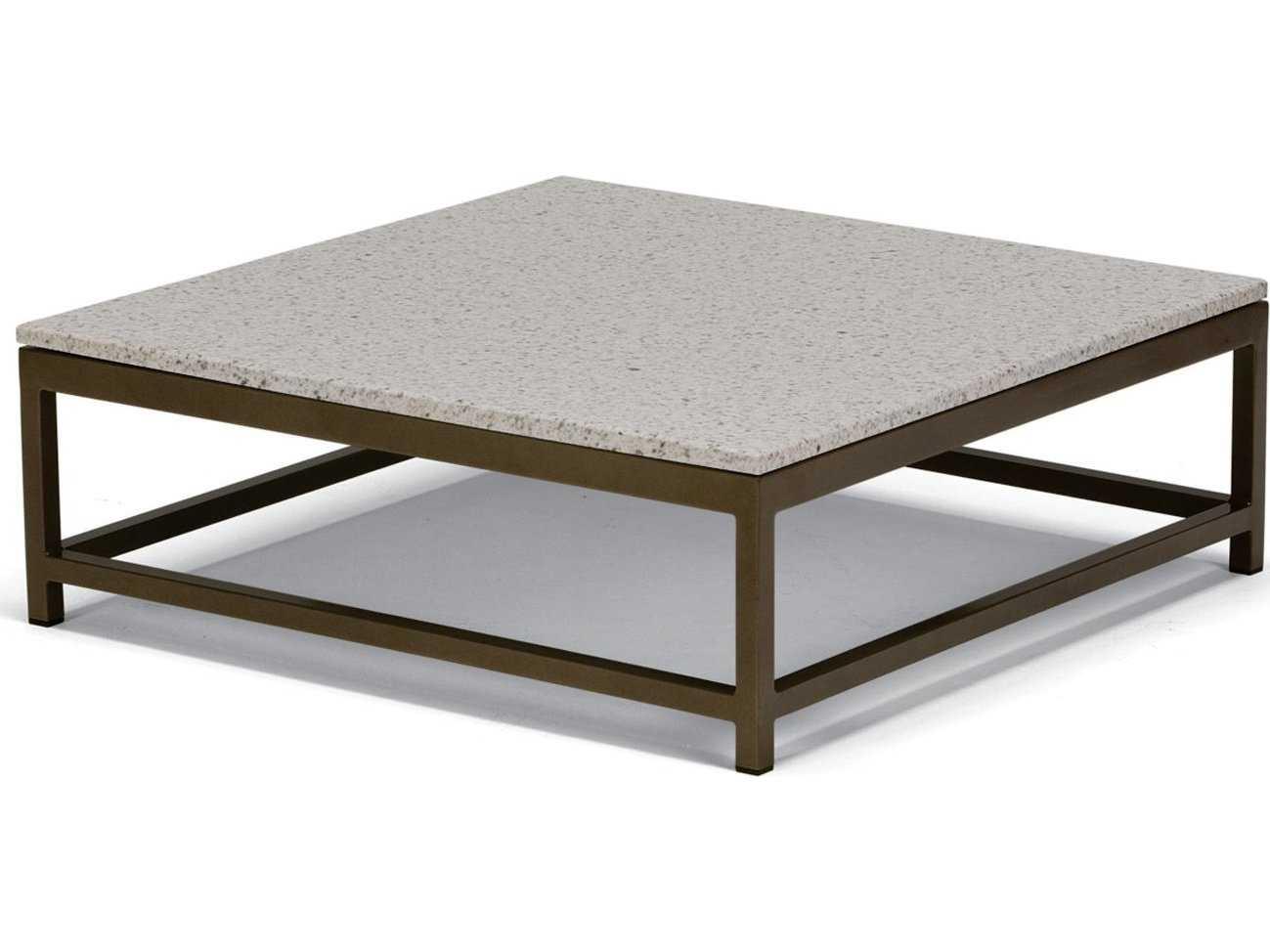 Tropitone Stoneworks Faux Granite Stone 34 Square Solid