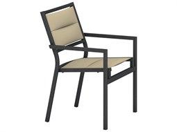 Tropitone Cabana Club Padded Sling Arm Dining Chair