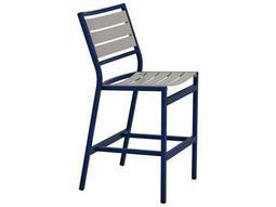 tropitone cabana club aluminum slats armless stationary bar stool list price free shipping from