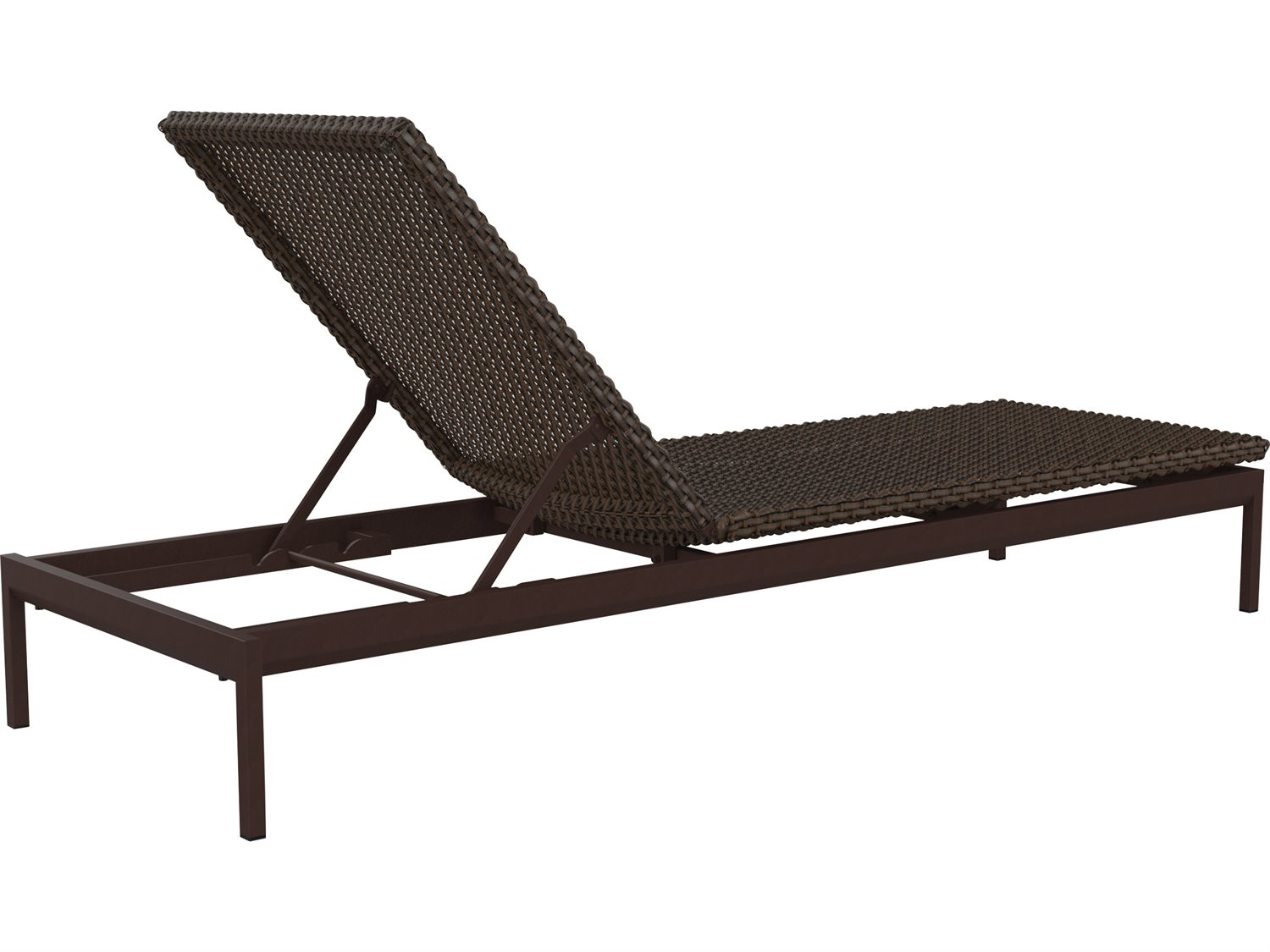 Tropitone cabana club woven chaise lounge armless for Cabana chaise lounge
