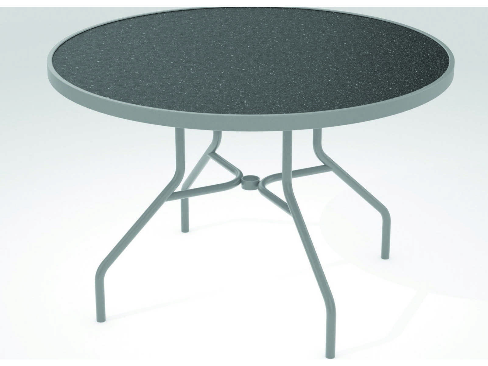 Tropitone Hpl Raduno Aluminum 42 Round Dining Table 646nh