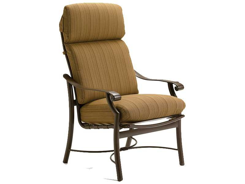 Tropitone Montreaux Replacement Cushion High Back Dining Chair High Back Swiv