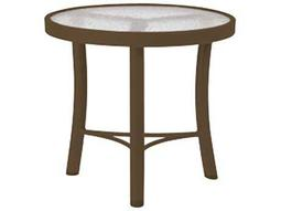 Tropitone Cast Aluminum Obscure 20 Round Coffee Table