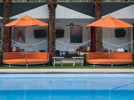 Tropitone Cabana Club Aluminum Aluminum 8 or more Cushion Pool Patio Lounge Set