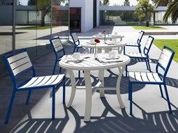 Tropitone Cabana Club Slats Dining Set