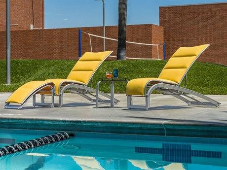 Tropitone South Beach Relaxed Sling Aluminum Lounge Set