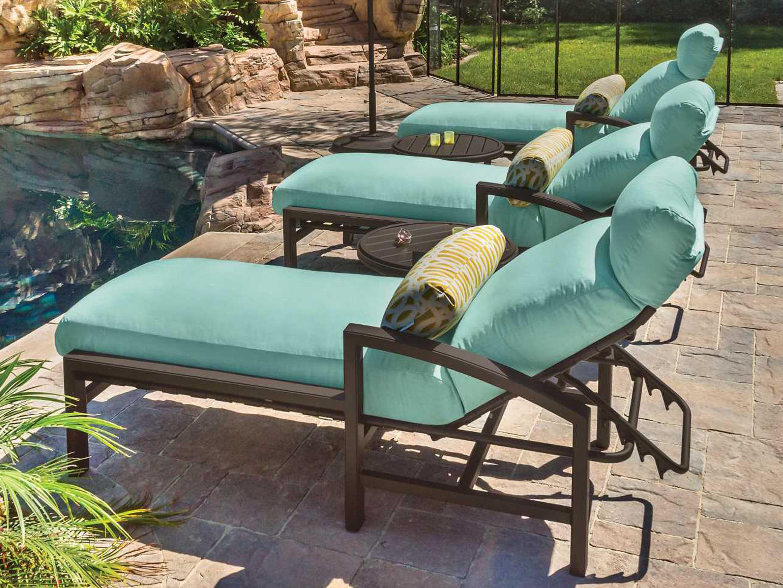 Tropitone Lakeside Cushion Aluminum Chaise 730532