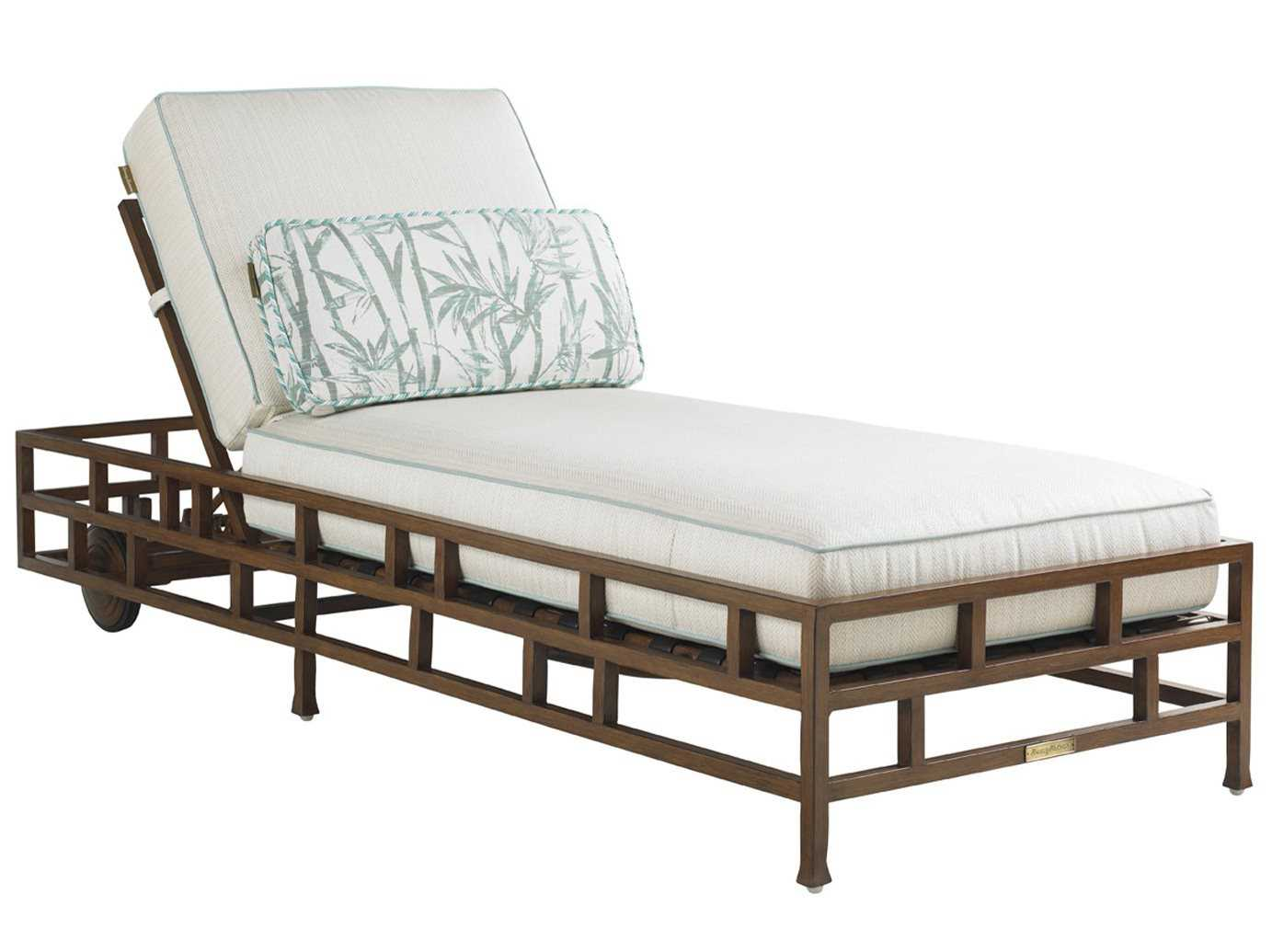 Tommy bahama outdoor ocean club resort aluminum chaise for Aluminum outdoor chaise lounge