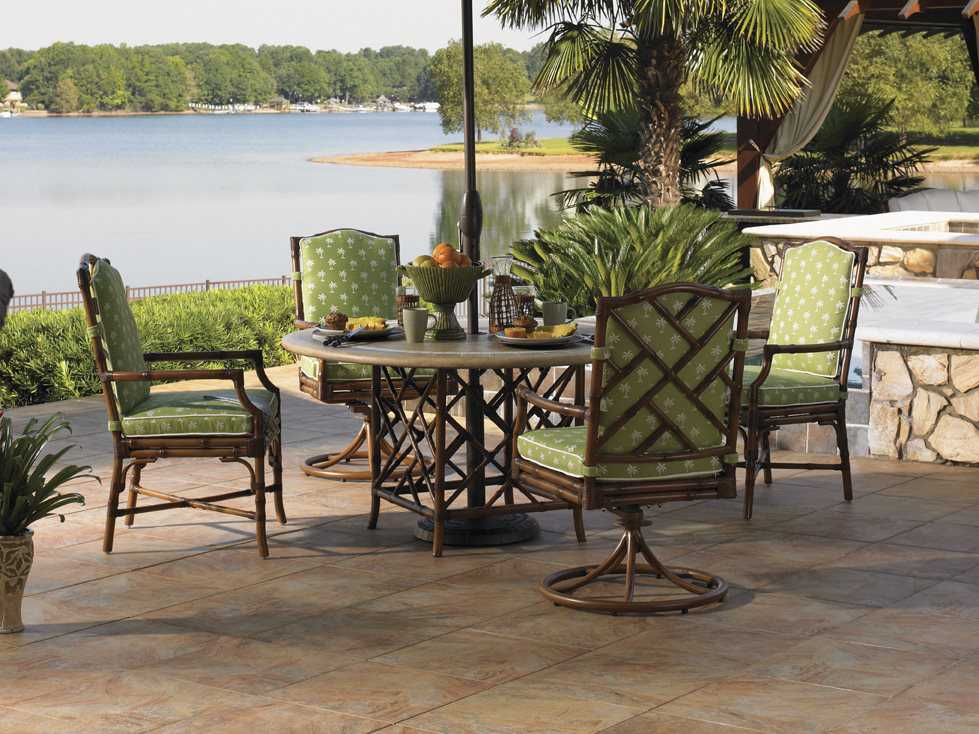 Tommy Bahama Outdoor Island Estate Veranda Aluminum Dining