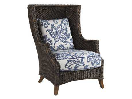 Tommy Bahama Outdoor Island Estate Lanai Wicker Wing Chair