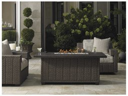 Oakland Living Charleston Round Gas Firepit Table 8206
