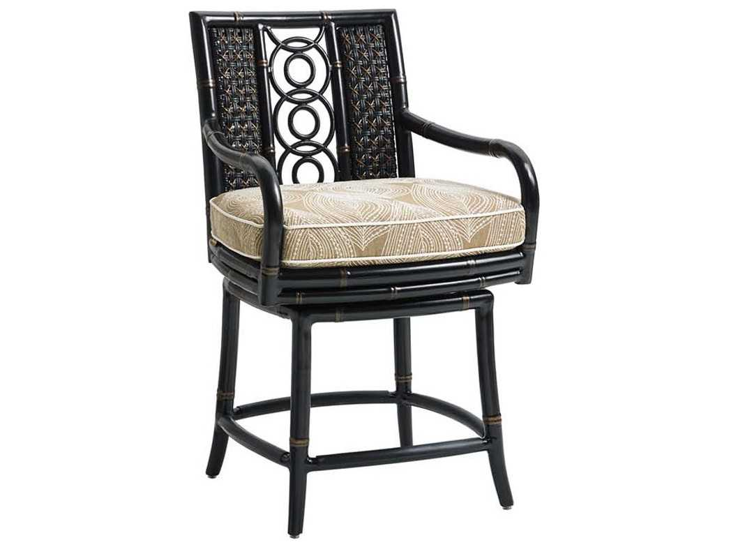 Tommy Bahama Outdoor Marimba Swivel Counter Stool 3237 17sw