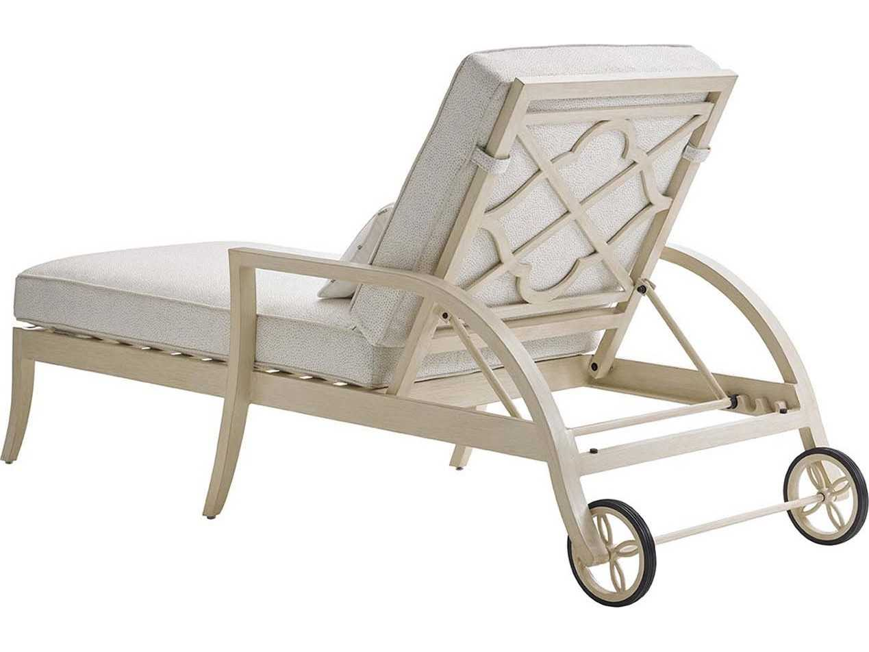 Tommy bahama outdoor misty garden cast aluminum chaise for Cast aluminum chaise