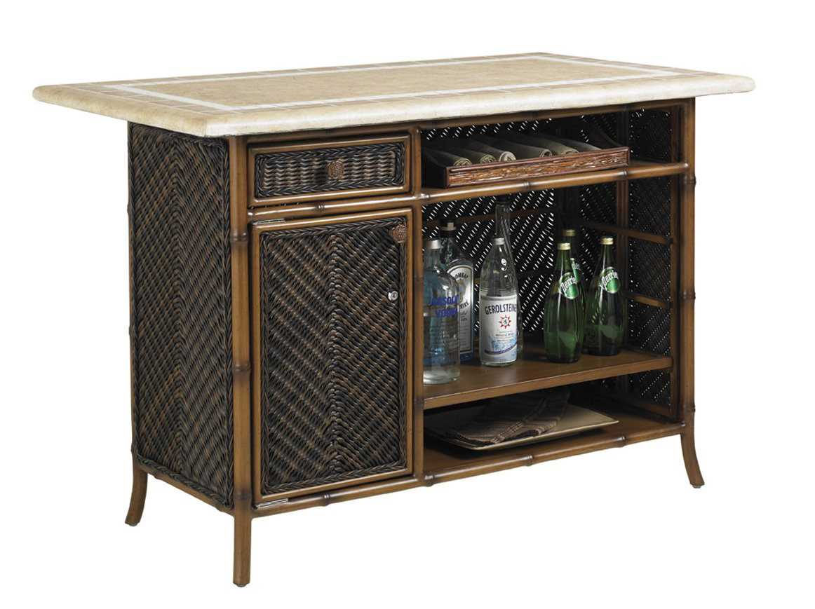 Tommy bahama outdoor island estate lanai bar set 3170 for Outdoor lanai furniture