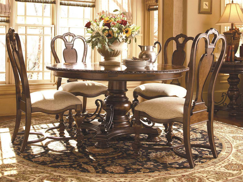 Universal furniture bolero dining set 016657 set for Universal dining room furniture
