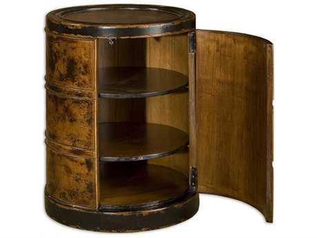 Uttermost Lawton Storage Drum Table