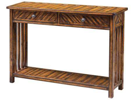 Uttermost Bartek Honey 48'' x 14'' Rectangular Console Table