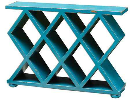 Uttermost Tomek Pacific Blue 48'' x 12'' Rectangular Console Table