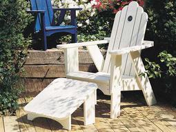 Uwharrie Chair Original Wood Arm Adirondack Chair