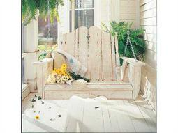 Uwharrie Chair Nantucket Three Seat Wood Swing