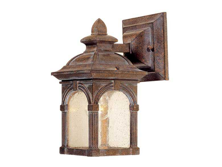 Vaxcel Essex Royal Bronze & Seeded Glass 5 Outdoor Wall Light OW38753RBZ