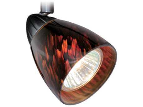 Vaxcel Veneto Dark Bronze Spot Light with Dark Umbra Glass