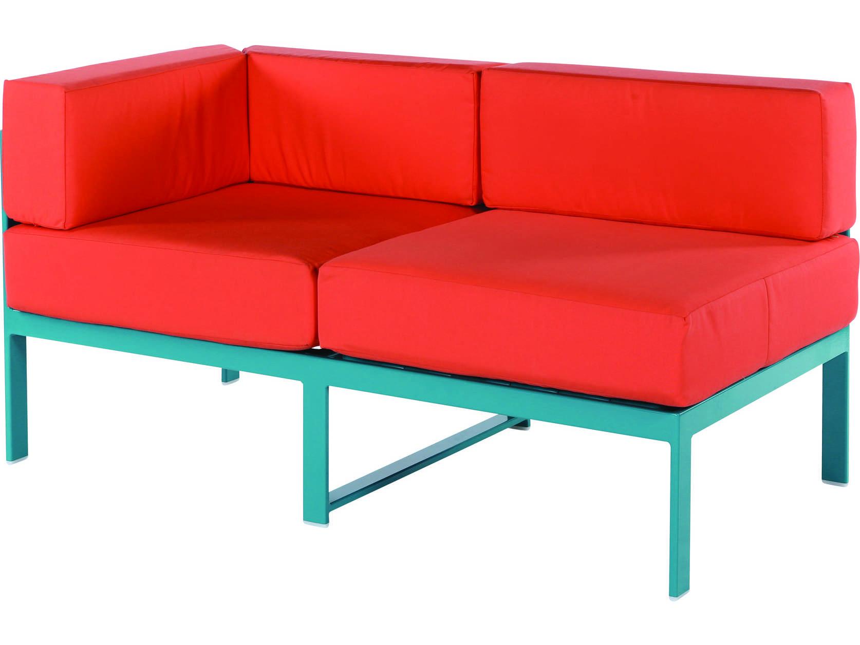 windward design group south beach modular aluminum lounge set southbchmdrlngset3. Black Bedroom Furniture Sets. Home Design Ideas
