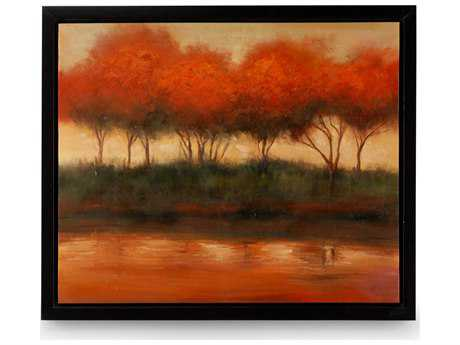 Wildwood Lamps Framed Oil Painting Artists Work On Canvas Wall Art