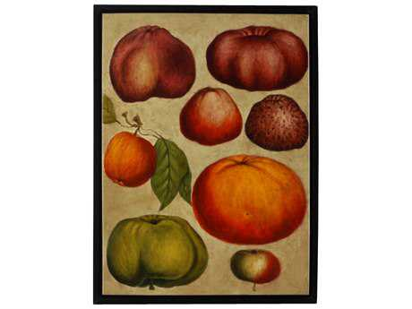 Wildwood Lamps Fruit Study Framed Oil On Canvas Artist Hand Painting Wall Art
