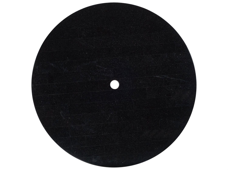 Woodard Black Granite 60 Round Table Top With Umbrella