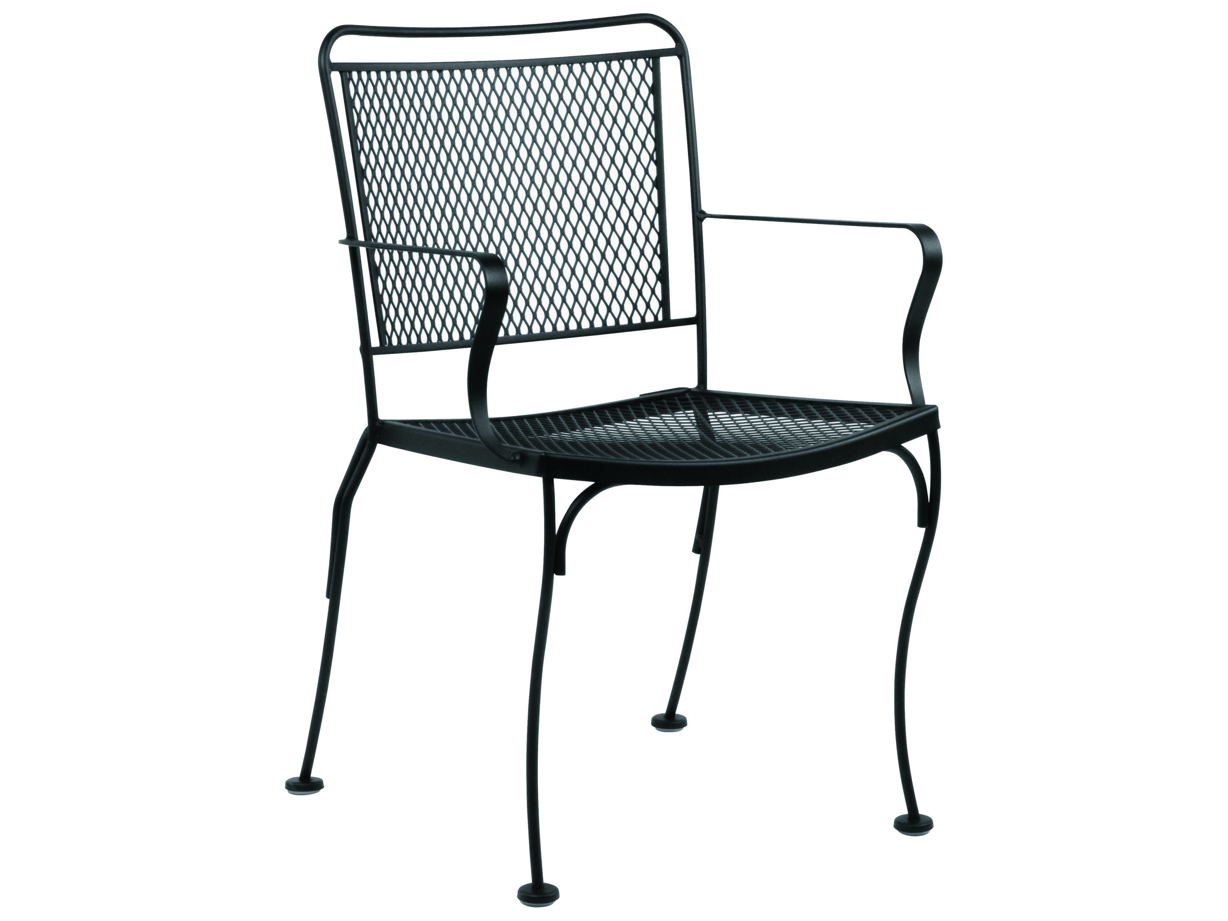 Woodard Constantine Wrought Iron Stackable Dining Chair