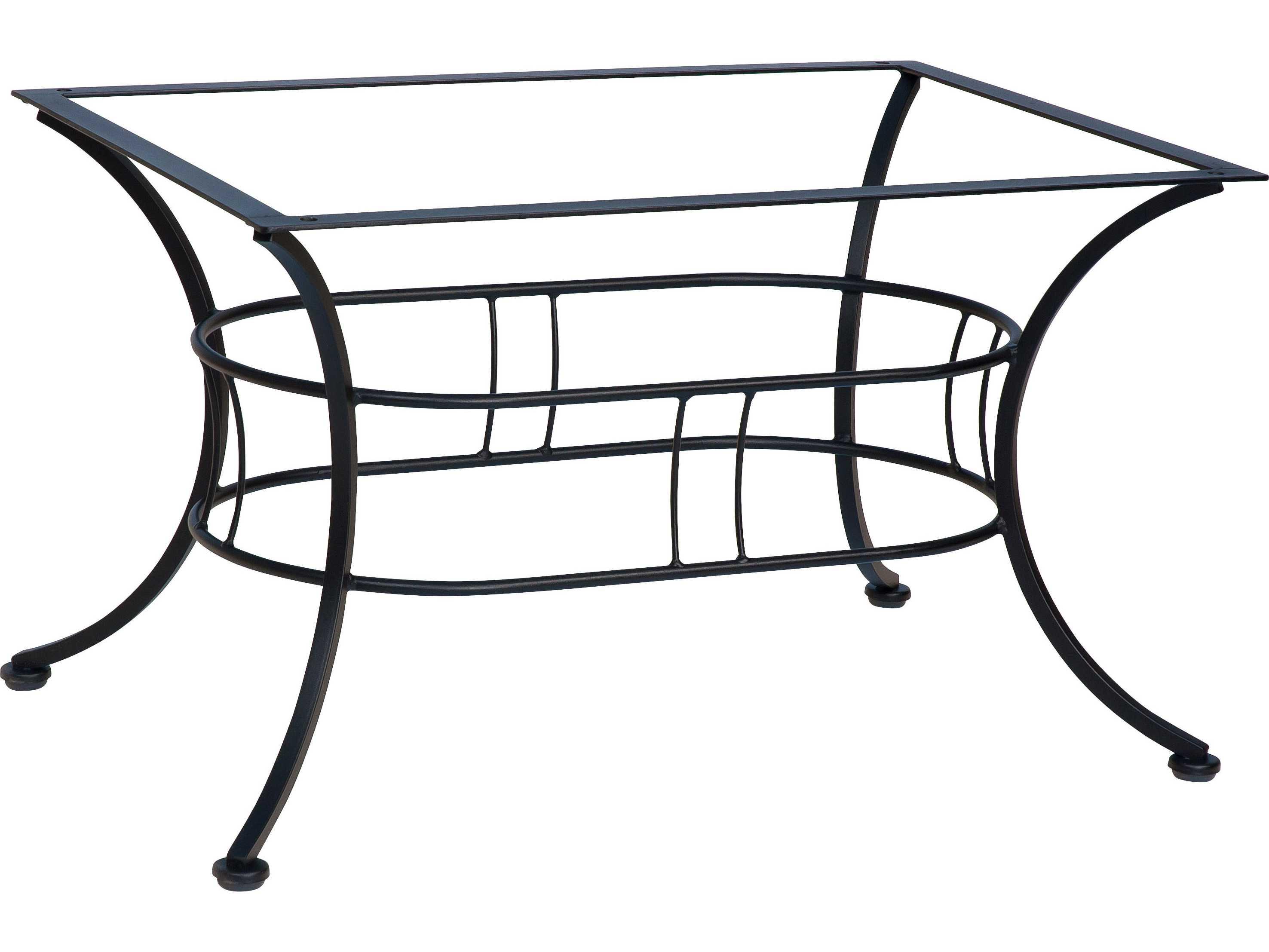 Woodard Easton Wrought Iron Coffee Table Base 1n4500